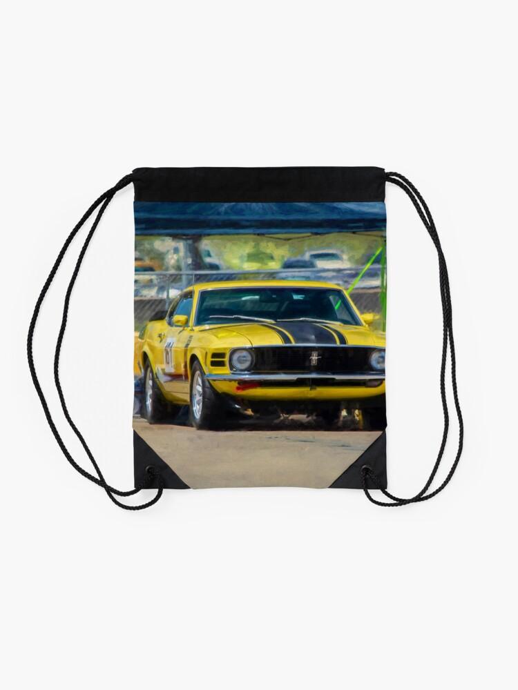 Alternate view of 1970 Mustang Drawstring Bag
