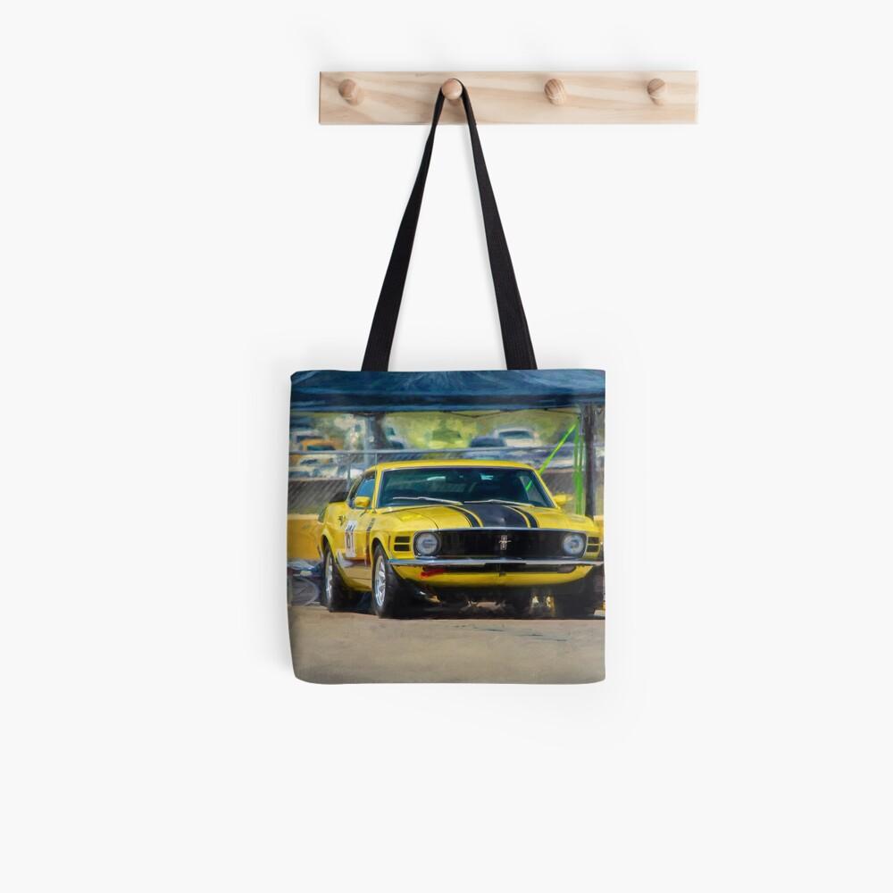 1970 Mustang Tote Bag