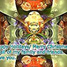 wishing you happy holidays/merry Christmas to everyone by LoreLeft27