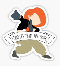 Kim Possible - Stronger Than You Think Sticker