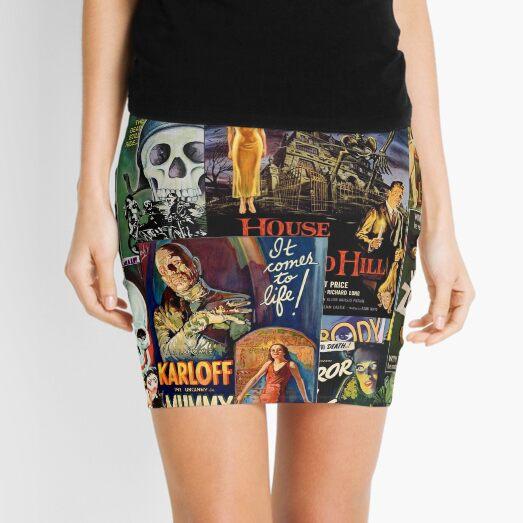 Monster Movies Mini Skirt