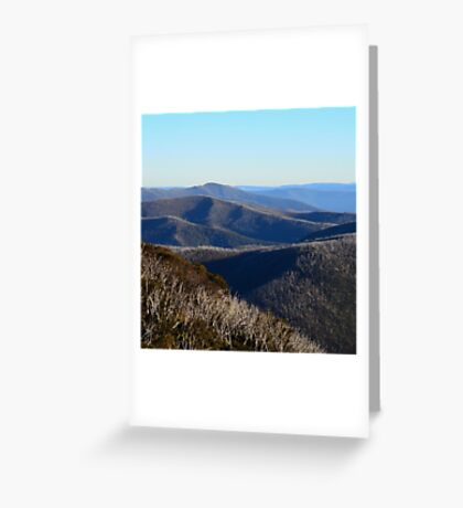 The View from Hotham Greeting Card