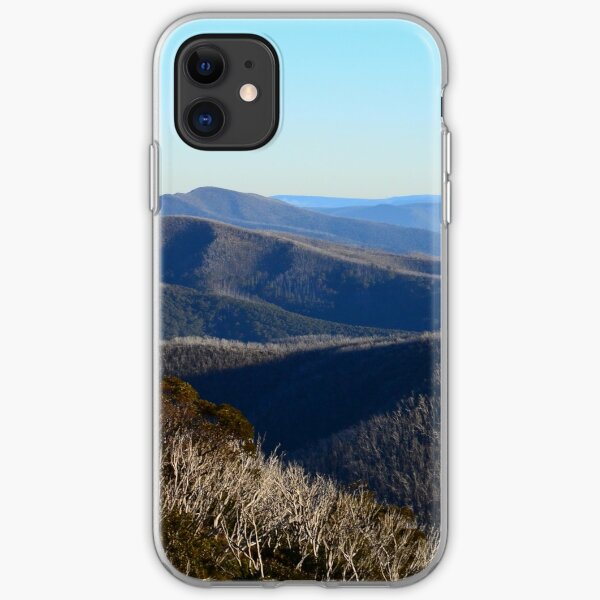 The View from Hotham iPhone Soft Case