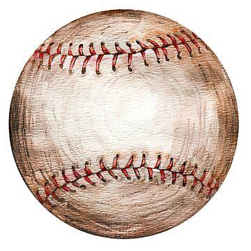 baseball old  ball by lisenok