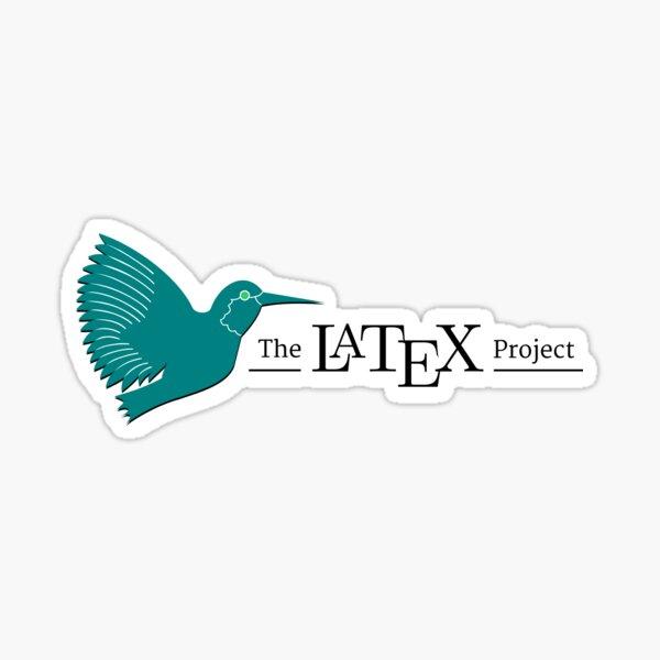 LaTeX Project Logo Sticker