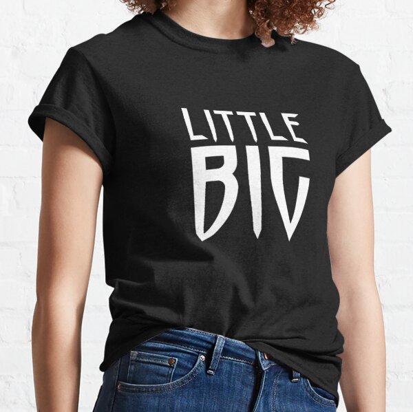Little Big Logo Text Design Classic T-Shirt