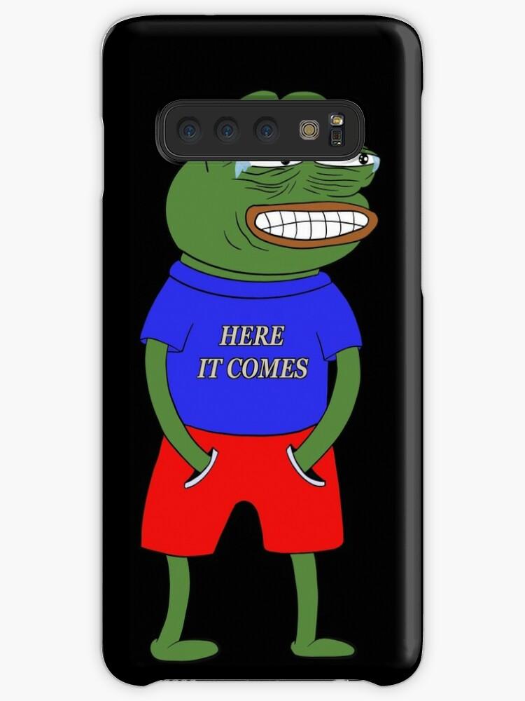 'Pepe laugh' Case/Skin for Samsung Galaxy by DreamyGabriela