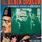 Vintage Hollywood Nostalgia GMen Versus the Black Dragon Film Movie Advertisement Poster by jnniepce
