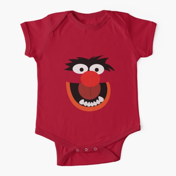 animal Short Sleeve Baby One-Piece