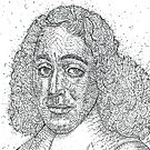 BARUCH SPINOZA - ink portrait by lautir
