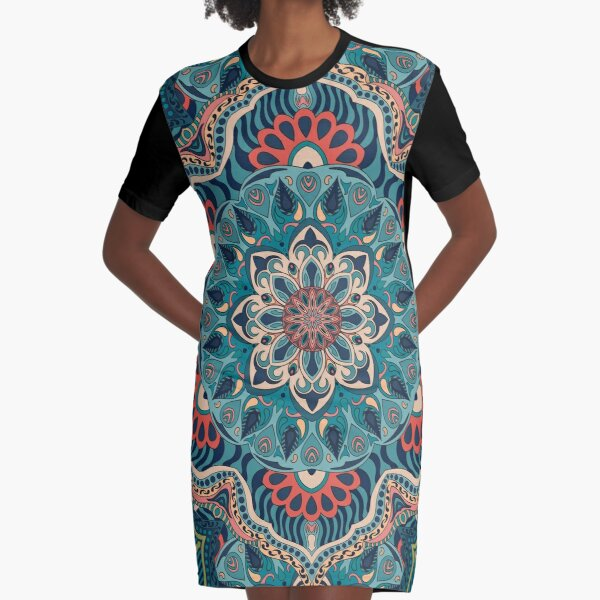 Florence Graphic T-Shirt Dress