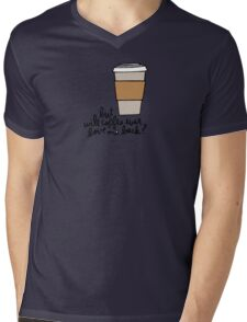 But Will Coffee Ever Love Me Back? Mens V-Neck T-Shirt