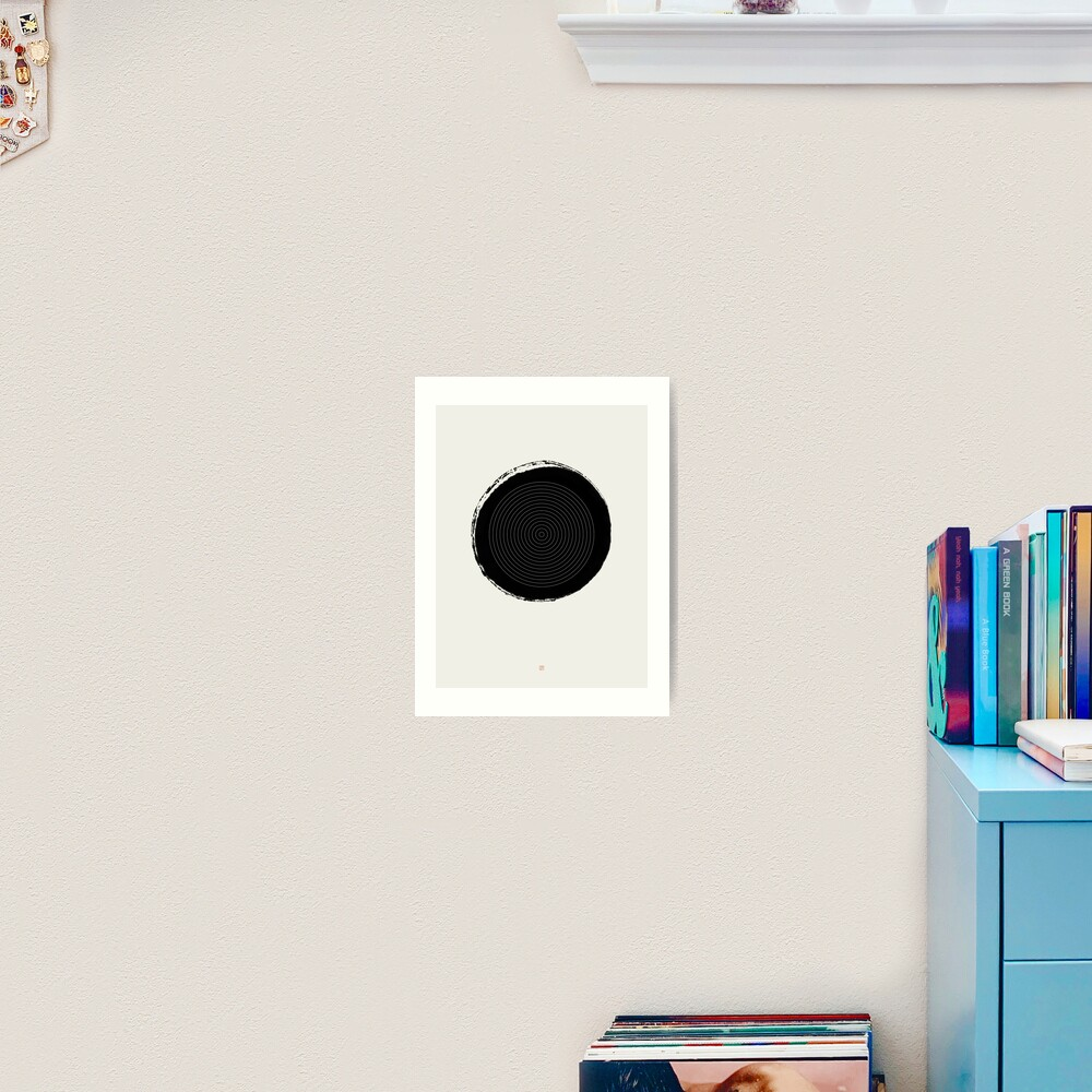 Target (West Meets East Series) Art Print