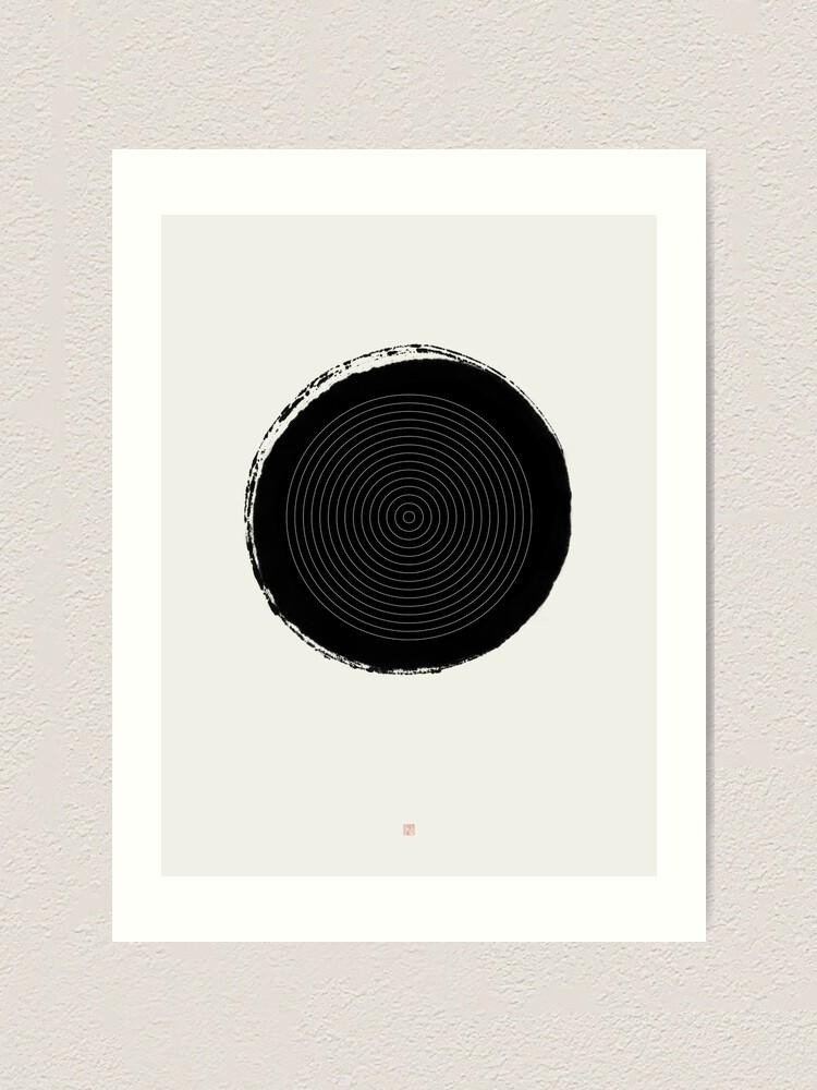 Alternate view of Target (West Meets East Series) Art Print