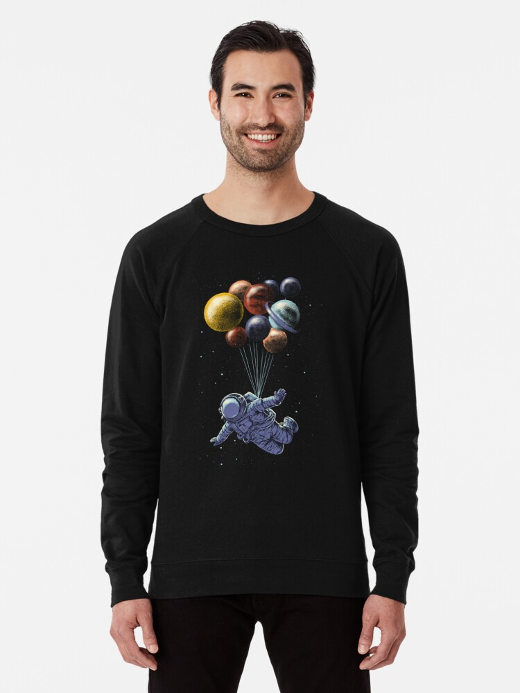 Alternate view of Space Travel Lightweight Sweatshirt