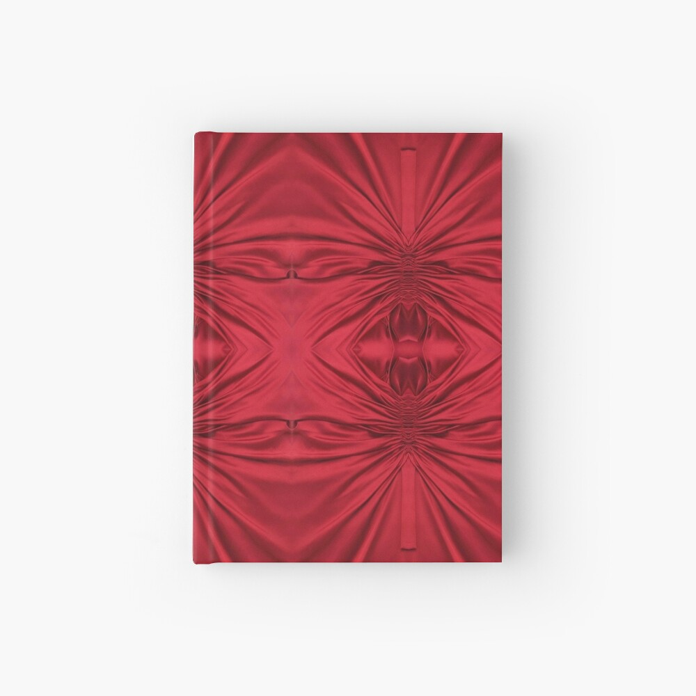 #red #maroon #symmetry #abstract #illustration #design #art #pattern #textile #decoration #vertical #backgrounds #textured #colors Hardcover Journal