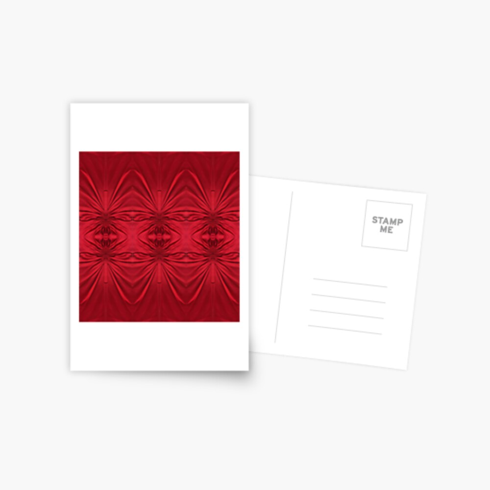 #red #maroon #symmetry #abstract #illustration #design #art #pattern #textile #decoration #vertical #backgrounds #textured #colors Postcard