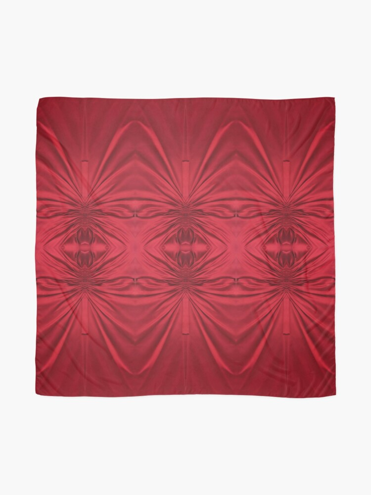 Alternate view of #red #maroon #symmetry #abstract #illustration #design #art #pattern #textile #decoration #vertical #backgrounds #textured #colors Scarf