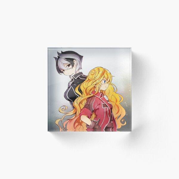 Ozen & Lyza Acrylic Block