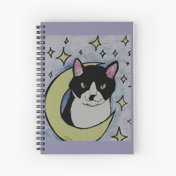 Moon Talos Spiral Notebook