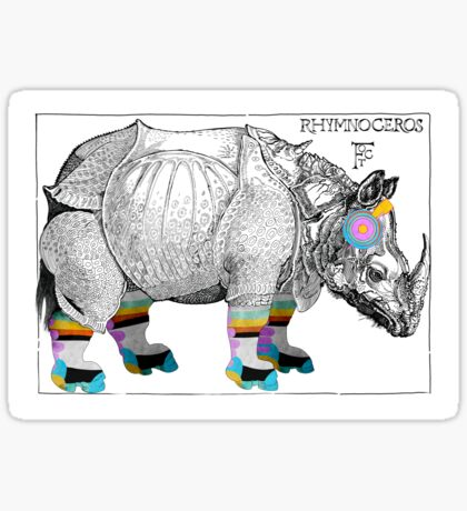 Mother Flippin' Rhymnoceros, Flight of the Conchords Sticker
