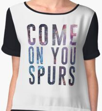 Come On You Spurs N17 Chiffon Top