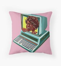 Maurice Moss from The IT Crowd Throw Pillow