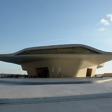 View of the new Salerno Maritime , Italy.Terminal by Zaha Hadid Architects. by DANGER-ZONE888