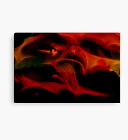 Fire Bird Canvas Print