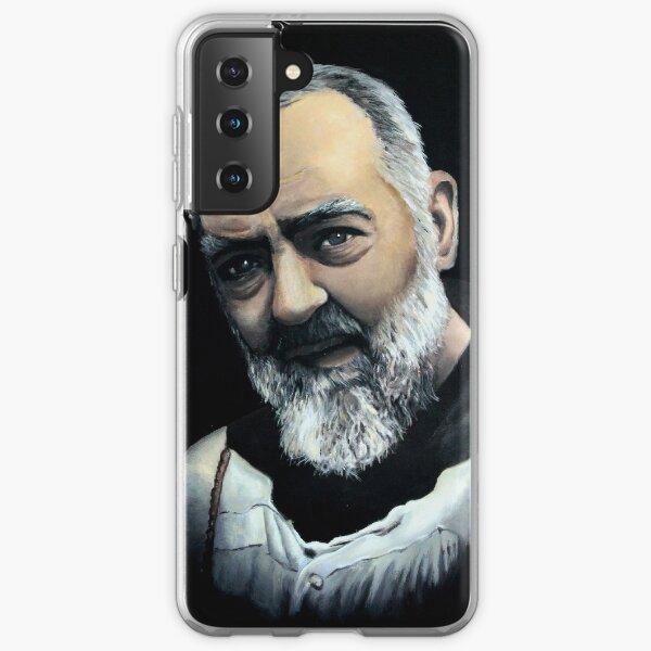 Saint Pio from Pietrelcina Samsung Galaxy Soft Case