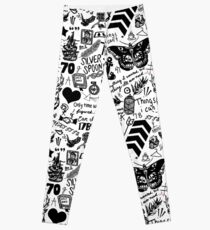 1D Tattoos 2015 Leggings
