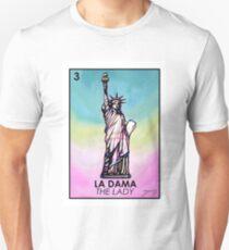 La Dama - Loteria Unisex T-Shirt