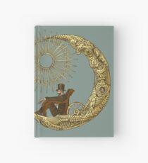 Moon Travel Hardcover Journal