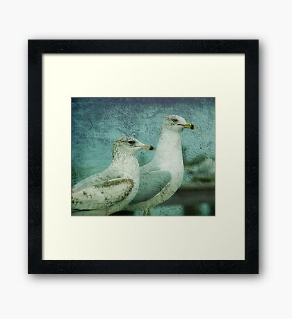 The Two Guys Framed Print