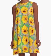 November Nasturtium A-Line Dress
