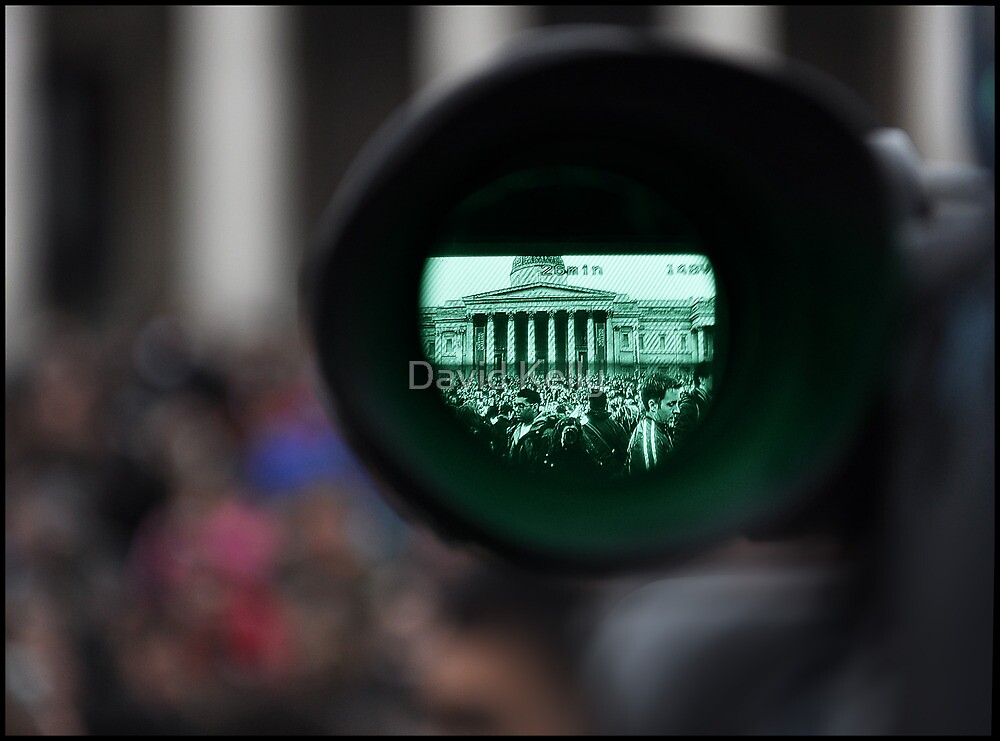 Through The Viewfinder by David Kelly