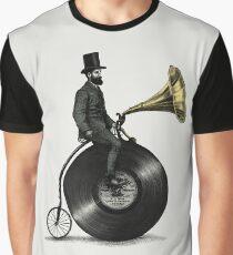 Musik Mann Grafik T-Shirt