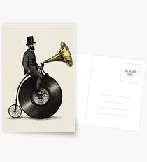 Musik Mann Postkarten