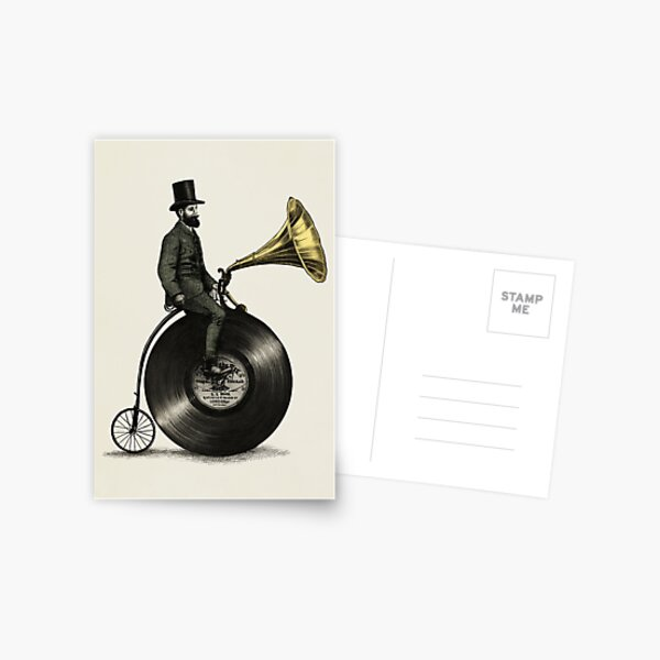 Music Man Carte postale