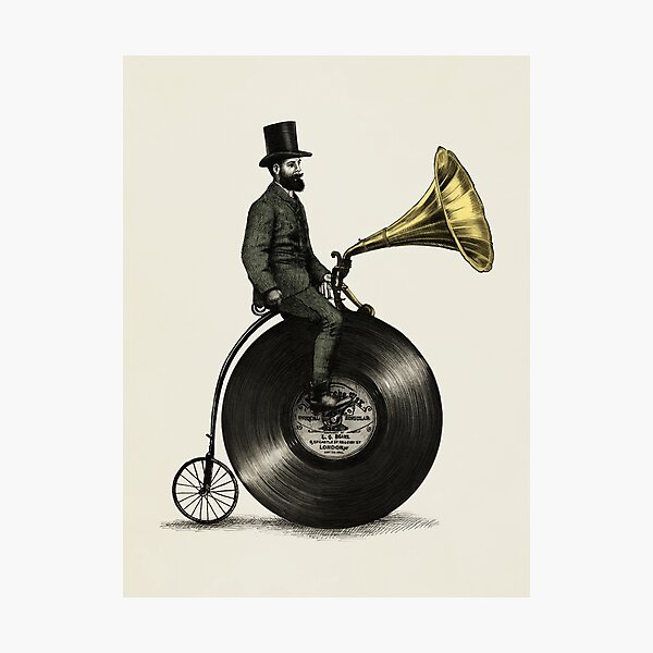 Music Man Photographic Print