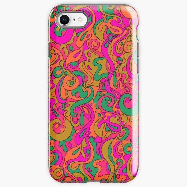 Groovy Swirls iPhone Tough Case