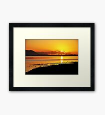 Sunset at Inch, Co. Kerry, Ireland 2 Framed Print