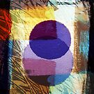 First Day/Evening Digital Collage Painting-Print by Jenny Meehan  by Jenny Meehan