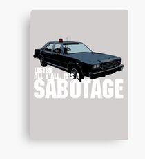Lienzo Sabotaje Beastie Boys Car Tshirt