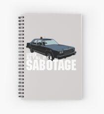 Cuaderno de espiral Sabotaje Beastie Boys Car Tshirt