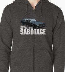 Sudadera con capucha y cremallera Sabotaje Beastie Boys Car Tshirt