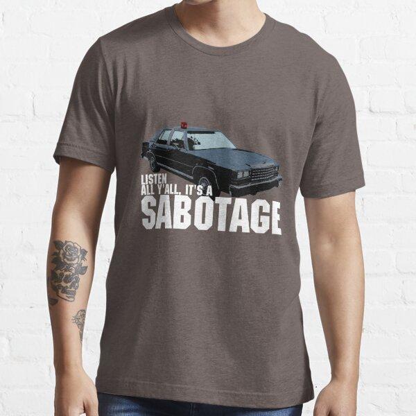 Sabotage Beastie Boys Car Tshirt Essential T-Shirt