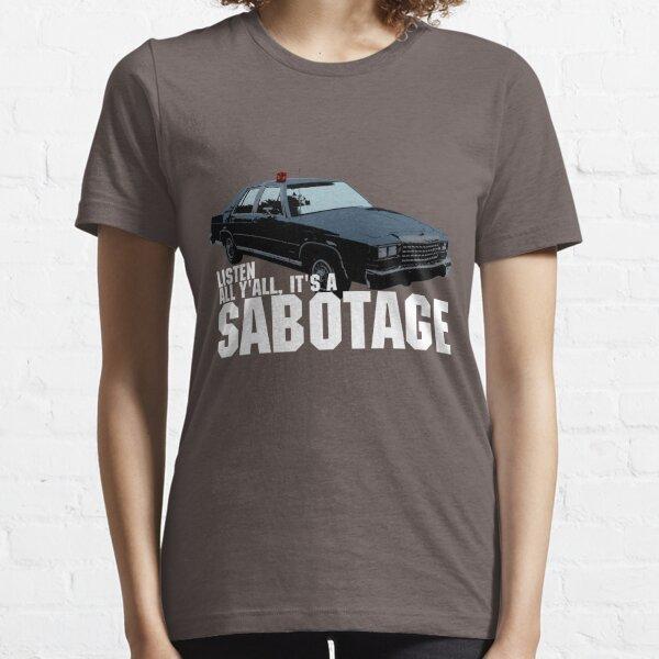 Tshirt Sabotage Beastie Boys Car T-shirt essentiel