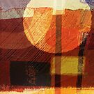 Desert Shelter Digital Collage/Painting-Print by Jenny Meehan by Jenny Meehan