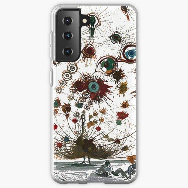 #painting #illustration #vector #design #art #abstract #decoration #flower #element #pattern #nature #horizontal #retrostyle #SalvadorDali Samsung Galaxy Soft Case